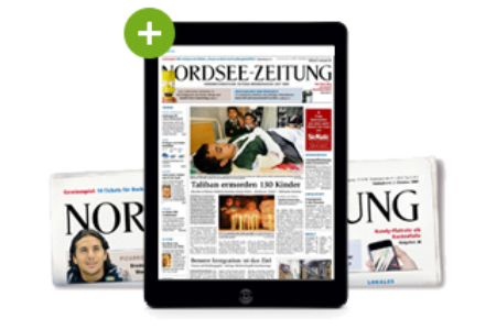 Nordsee-Zeitung Print plus Digital even more white space